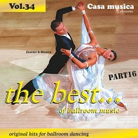 The Best of Ballroom Music Part 16 Vol.34 CD Cover