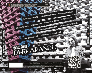 Derrapando [Back cover | Contratapa del CD]